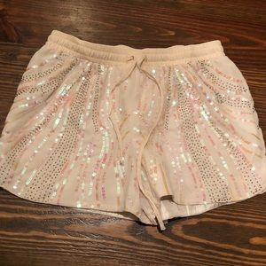 Ark & Co sequin shorts